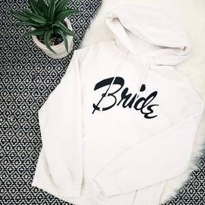 Wildfox Womens White Bride Hoodie Size Large